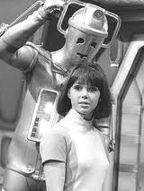 zoe in front of cyberman