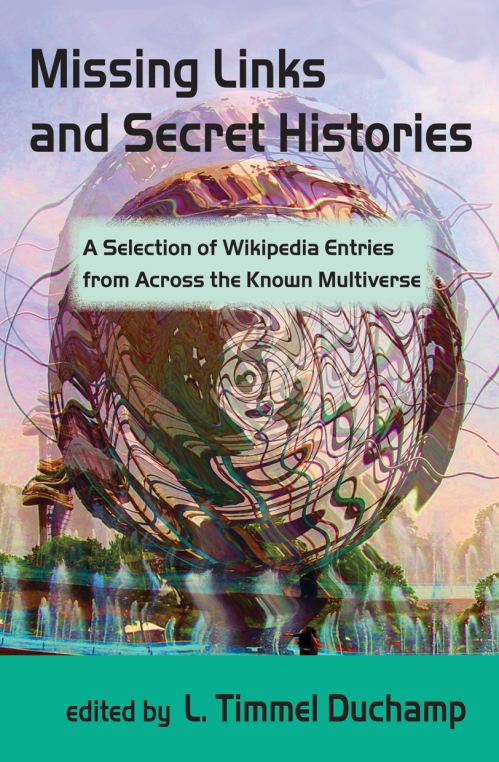 Cover to the anthology Missing Links and Secret Histories