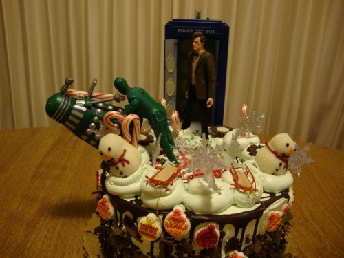 Doctor Who and the Cake Invasion