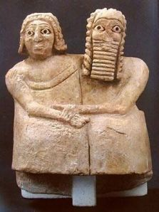 happy sumerian couple